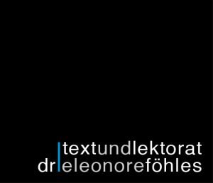 Text und Lektorat | Dr. Leonore Föhles