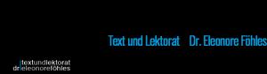 Text und Lektorat   Dr. Leonore Föhles